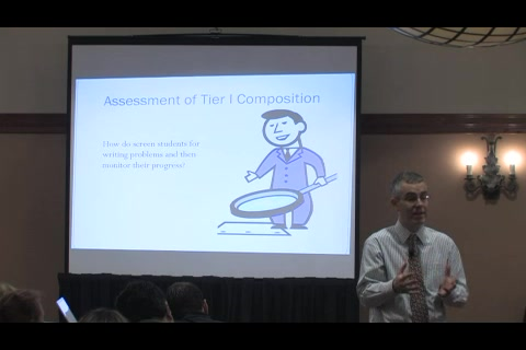 RtII Implementers Forum - Session 23: Elementary Writing Instruction Across the Tiers
