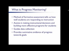 progress monitoring template