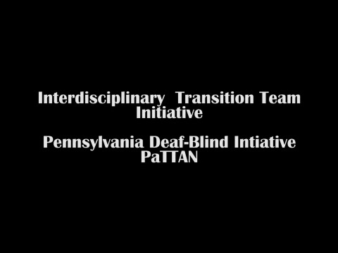 Interdisciplinary Transition Team Initiative for Students with Deaf-Blindness