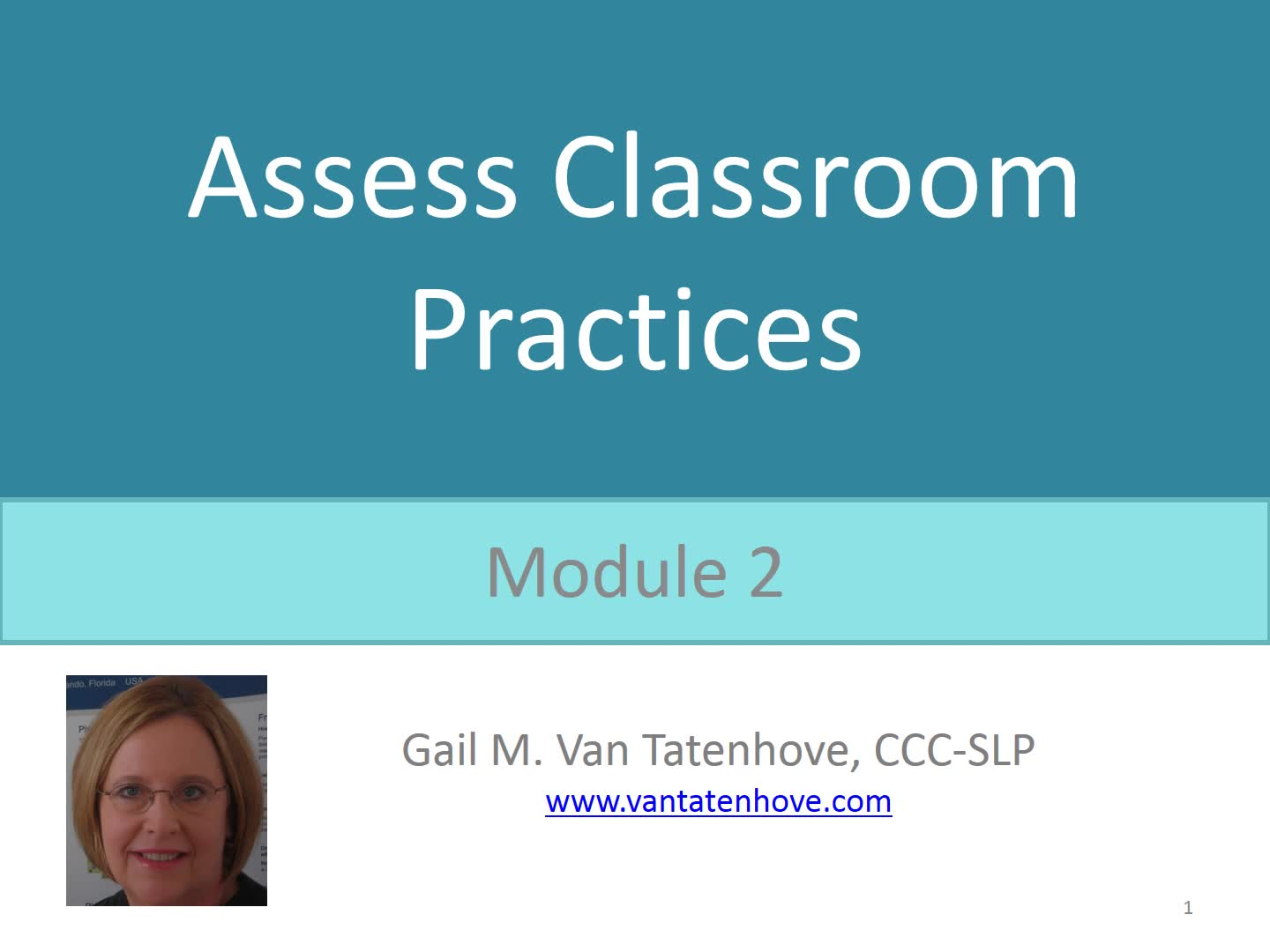 PowerAAC Module 2: Assess Classroom Practices