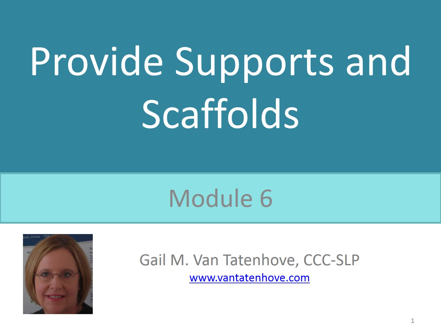 PowerAAC Module 6: Provide Support and Scaffolds