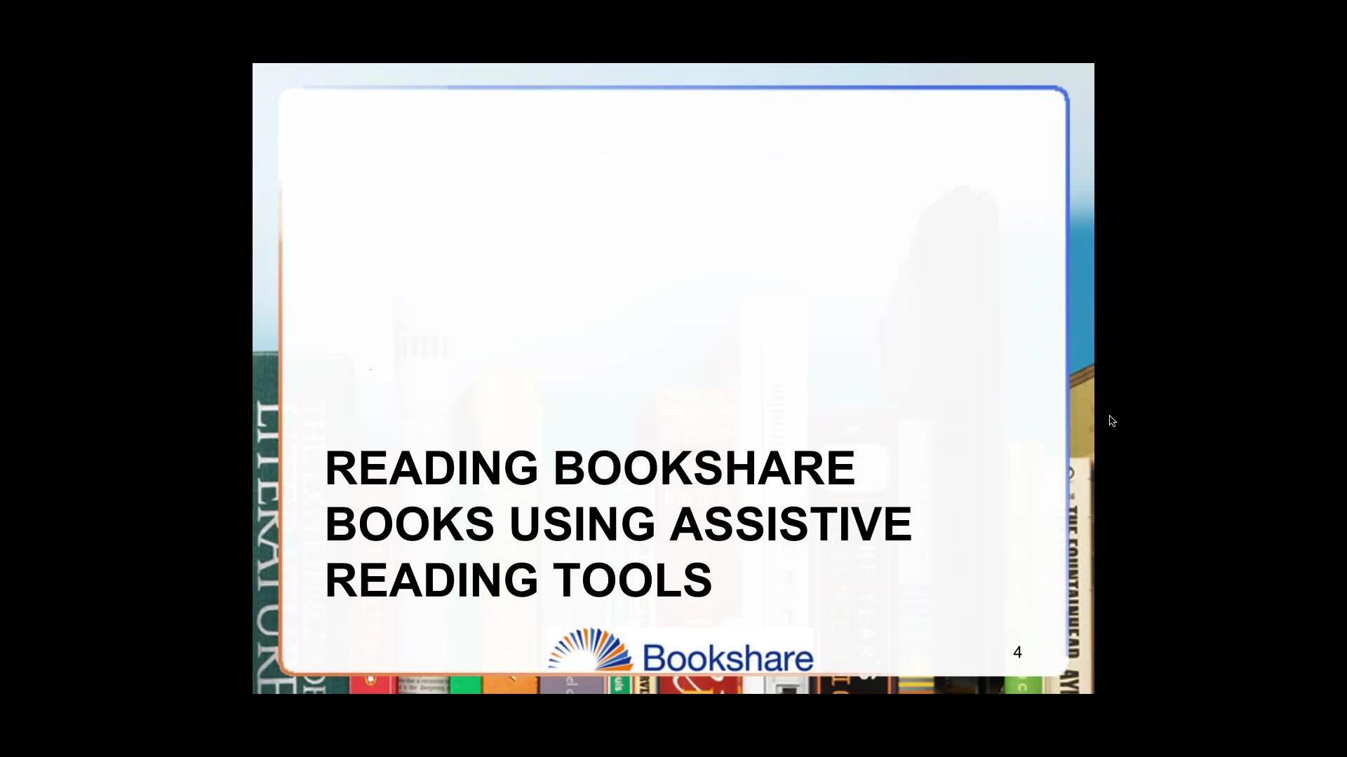 Bookshare: Accessible Education Materials (AEM) and Information Tools - Day 2