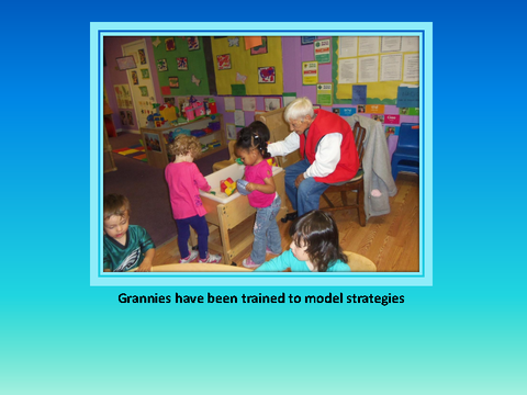 Grannies have been trained to model strategies