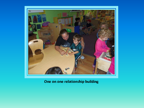 One on one relationship building