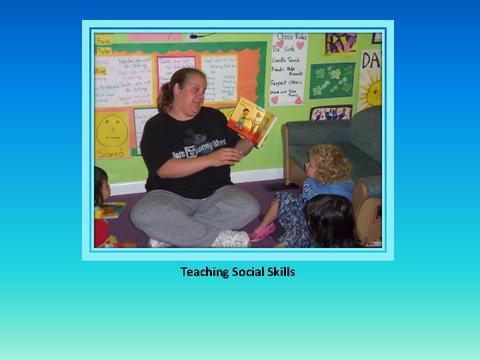 Teaching Social Skills [photograph: teacher in classroom]