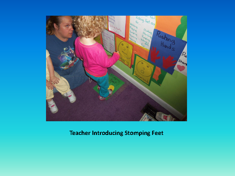 Teacher Introducing Stomping Feet