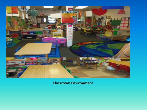 Classroom Environment [photograph: classroom]