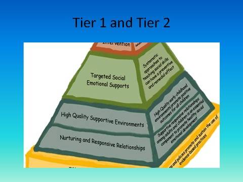 Tier 1 and Tier 2
