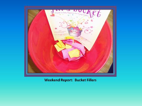 Weekend Report: Bucket Fillers [photograph: bucket]