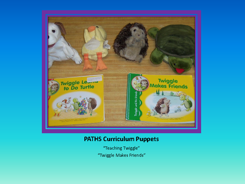 """PATHS Curriculum Puppets """"Teaching Twiggle"""" """"Twiggle Makes Friends"""""""