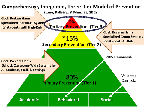 Comprehensive, Integrated, Three-Tier Model of Prevention