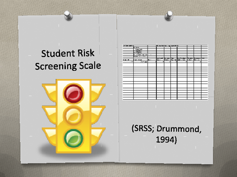 Student Risk Screening Scale (SRSS; Drummond, 1994)