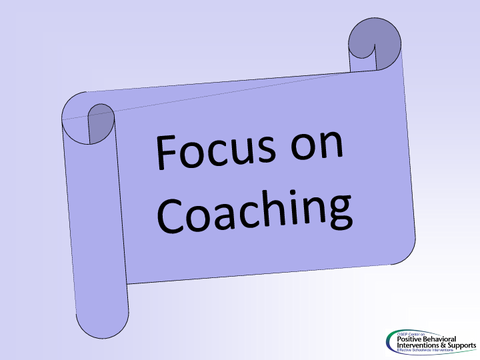 focus on coaching