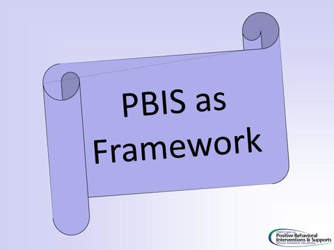 pbis as framework