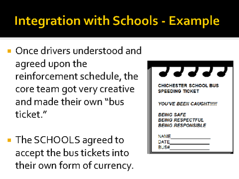 integration with schools example