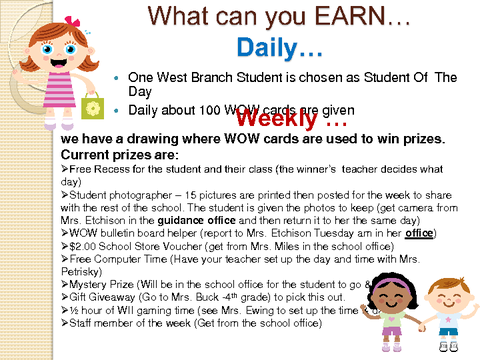 What can you EARN