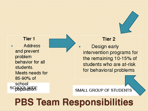 PBS Team Responsibilities