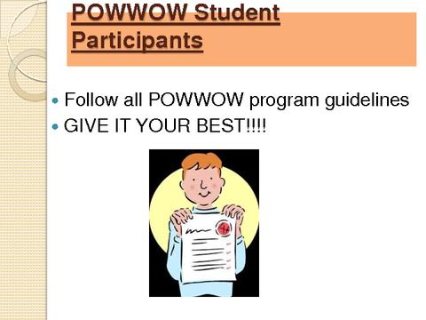 POWWOW Student Participants