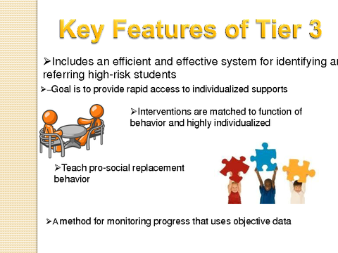 key features of tier 3