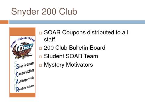 snyder 200 club