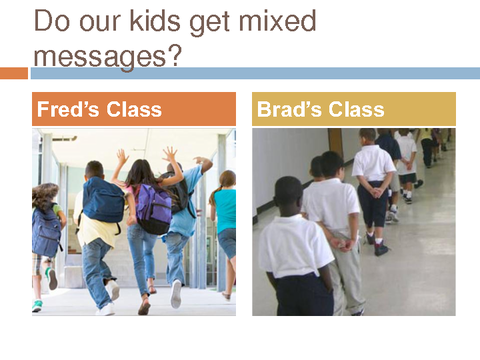 Do our kids get mixed messages?