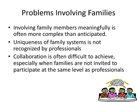 Problems Involving Families