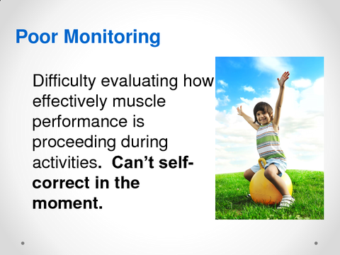 Poor Monitoring