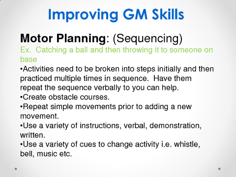Improving GM Skills