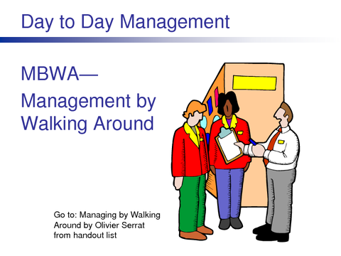 Day to Day Management