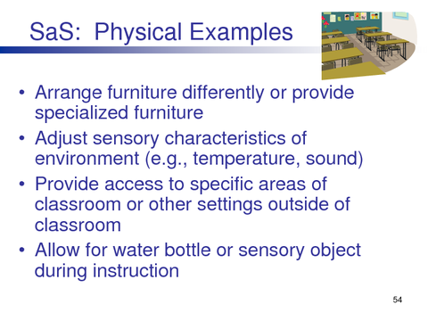 SaS: Physical Examples