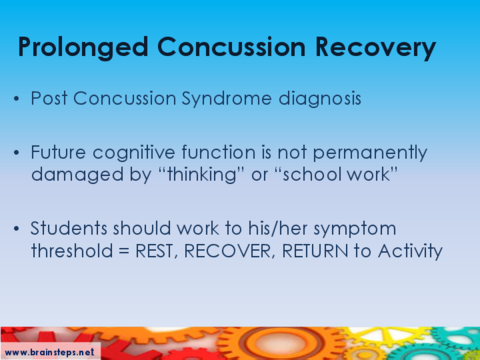BrainSTEPS: Students (K-12) with Concussion - Educational Impacts ...