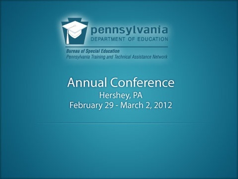 PDE Annual Conference Title Slide