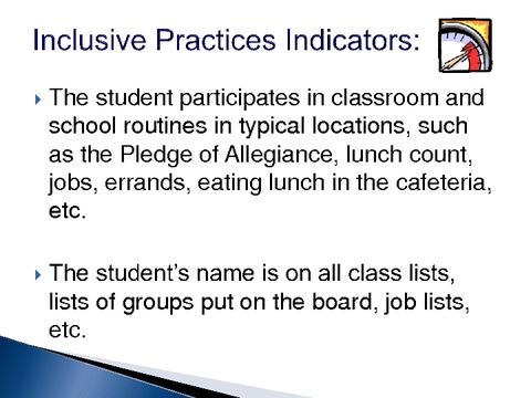 Best Practices for Inclusive Education (BPIE) – District